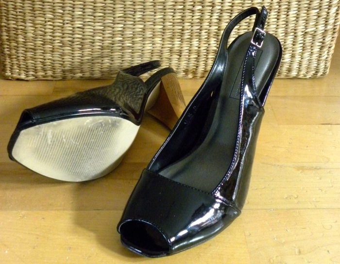 Patent Leather Black Shoes