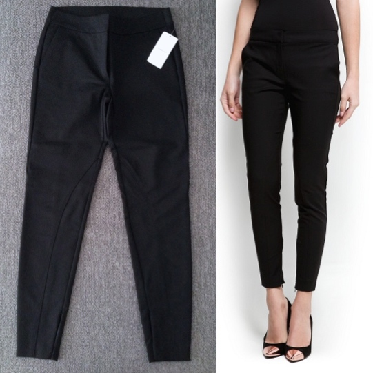 Super Slim Black Trousers