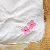 Verbaudet Baby Sleeping Bag Detail Flower