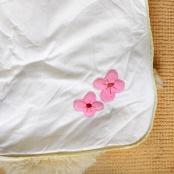 Verbaudet Baby Sleeping Bag Detail Flower