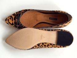Leopard Ballet Flat - detail